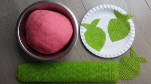 strawberry clay